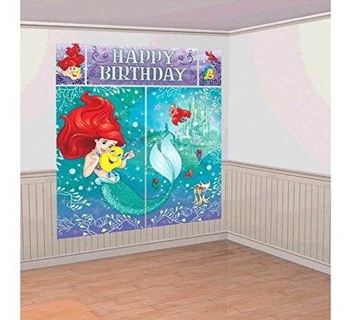 Disney Sirenita Princesa Ariel Dream Big Kids Party Scene Se