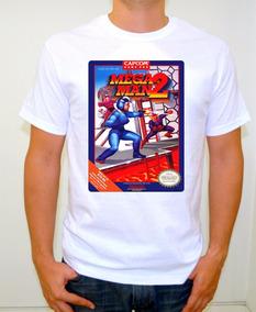 Megaman 2 Nes Playera Gamer Retro Vintage Nintendo Rockman