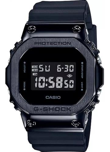 Relógio G-shock Gm 5600b 1dr Preto Aço Original Garantia