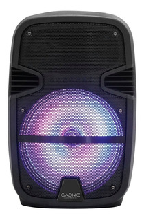 Parlante Portable Gadnic Bluetooth Fiestas Eventos Microfono