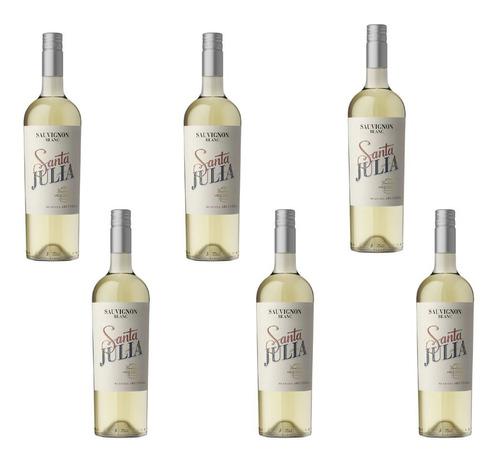 Vino Santa Julia Sauvignon Blanc 6 Unidades X 750 Ml