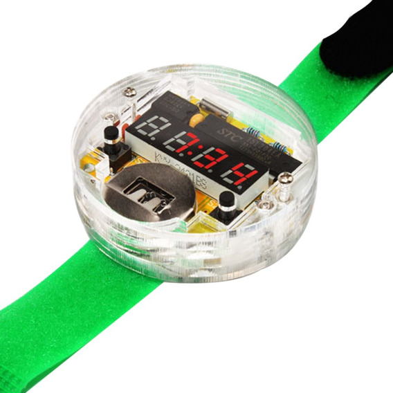 Kit Reloj Electrónico Digital Led Armarble Microcontrolador