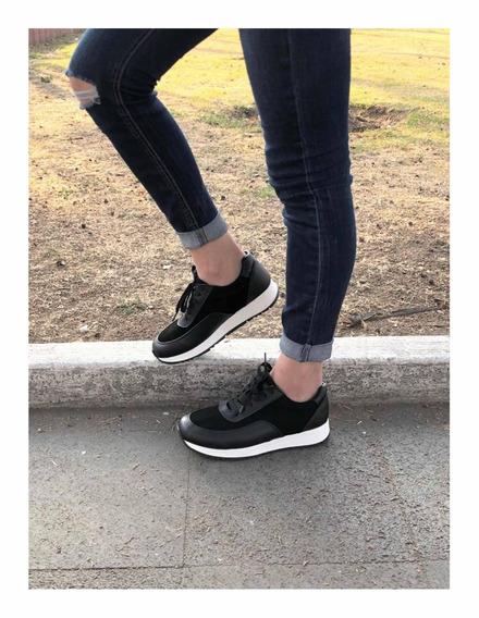 Sneakers Mujer Negros
