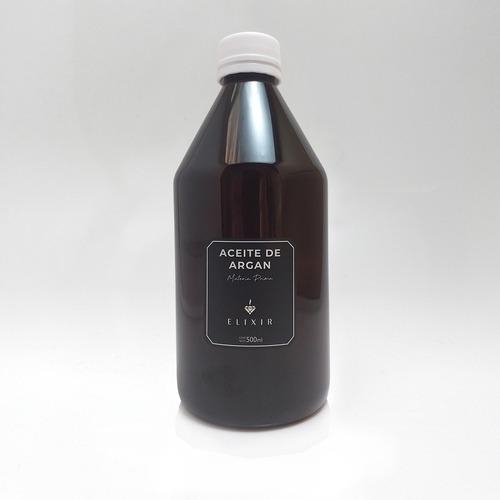Aceite De Argan 500ml Elixir Materia Prima Caba