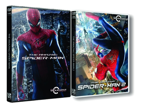 Combo: The Amazing Spider-man 1 E 2 - Dvd Pc - Frete 8 Reais