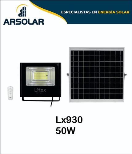 Imagen 1 de 1 de Reflectores Led Solares 50w
