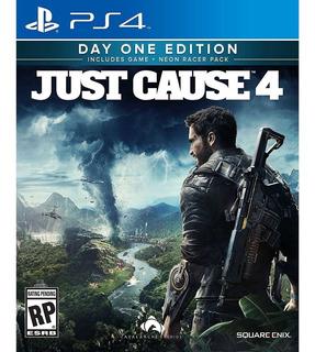 Just Cause Playstation Sony / Makkax
