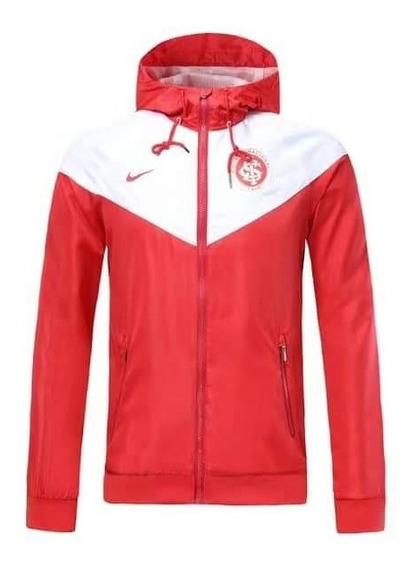 Jaqueta Corta Vento Nike Internacional Masculina Impermeável