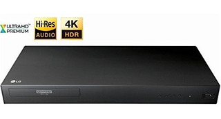 LG 4k Ultra Hd Reproductor De Blu-ray 3d Con Control Remoto,