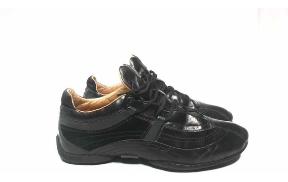 Tenis Hugo Boss Originales Talla 8 Buen Estado Color Negro