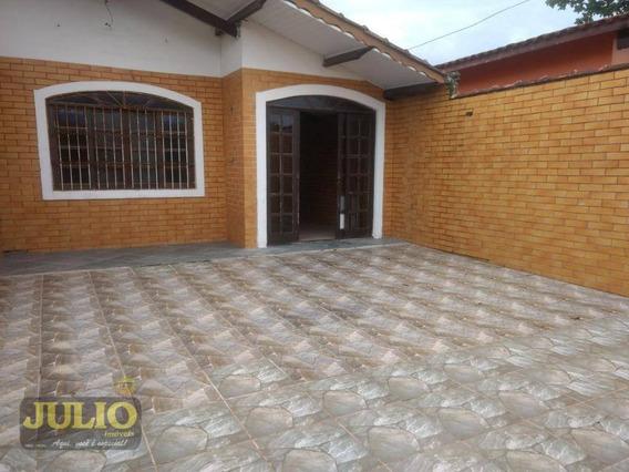 Casa Com 2 Dormitórios, Flórida Mirim - Mongaguá/sp, R$42 Mil De Entrada + Saldo Super Facilitado - Ca3651