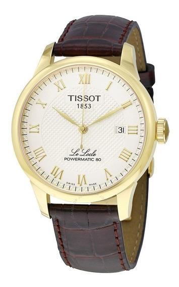 Relogio Tissot Le Locle T006.407.36.263.00 Automatico Dourad
