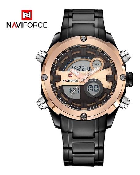 Relógio Naviforce Nf9157 Promoção +brinde