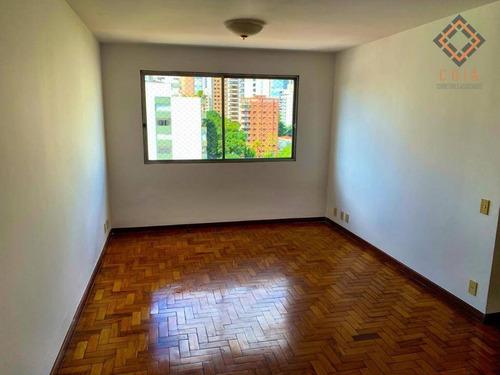 Apartamento Com 3 Dormitórios À Venda, 102 M² Por R$ 871.000,00 - Moema - São Paulo/sp - Ap48836