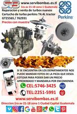 Reparacion De Turbo Perkins 420 T4.4l Tractor Gt2556s Gua