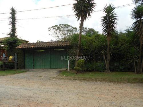 Chácara  À Venda, Km 39 Da Raposo Tavares, Há 1 Km Da Pista, Chácara Recanto Verde, Cotia. - Ch0209