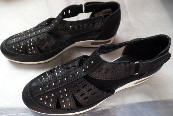 Zapatos Negros Batistella 37 Mujer