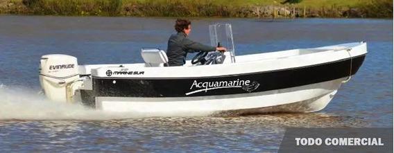 Traker Quicksilver Aquamarine 6400 + Motor A Eleccion