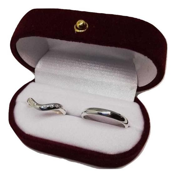 Anillos Compromiso, Matrimonio, Ilusiones Plata 950