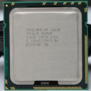 Processador Intel Xeon L5630 Slbvd 2.13ghz 12mb Cache