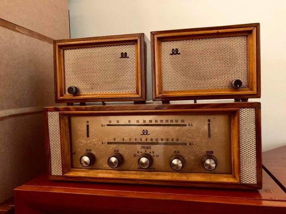 Rádio Valvulado Estéreo Ll Maravilhoso Caixas Independentes