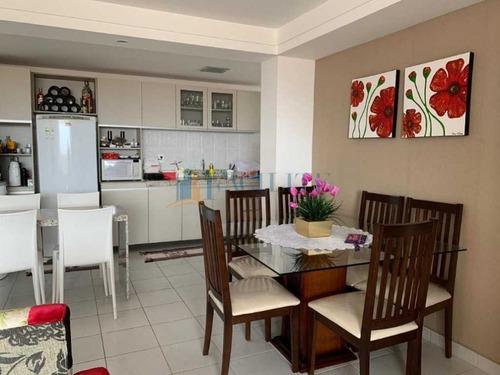 Apartamento Em Andar Alto Com Área De Lazer Completa No Aeroclube - 36687
