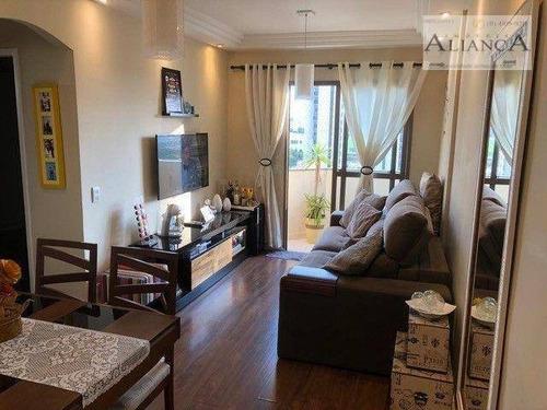 Imagem 1 de 19 de Apartamento Com 2 Dormitórios À Venda, 65 M² Por R$ 307.000 - Vila Baeta Neves - São Bernardo Do Campo/sp - Ap2319