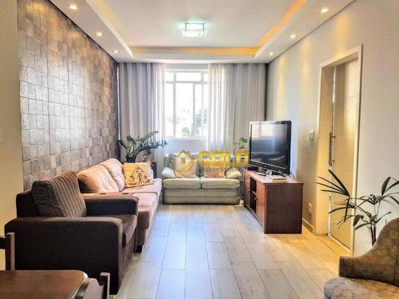 Apartamento Com 3 Dormitórios À Venda, 98 M² Por R$ 350.000 - Edifício Fênix Botafogo - Campinas/sp - Ap0211