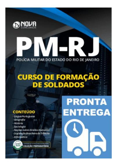 Apostila Pm-rj Polícia Militar Formação De Soldados Curso
