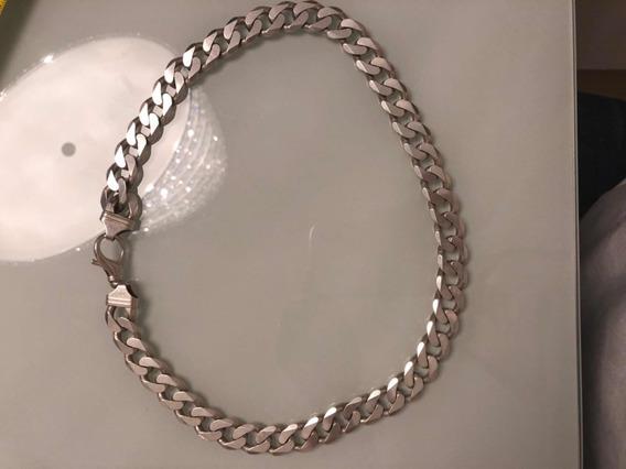 Colar De Prata 925 Masculino Italiana/escama