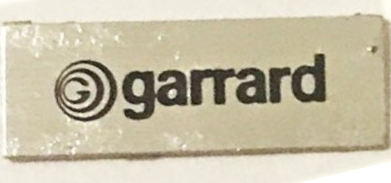 Emblema Da Capsula Agulha Vinil Garrard Gradiente