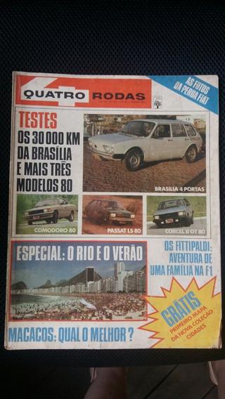 Quatro Rodas 1980 Diversas