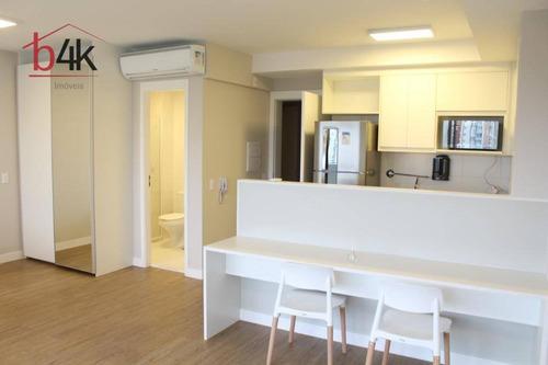 Apartamento Com 1 Dormitório Para Alugar, 47 M² Por R$ 2.300,00/mês - Chácara Santo Antônio (zona Sul) - São Paulo/sp - Ap2643