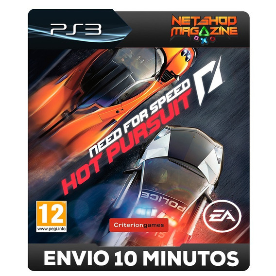 Need For Speed Hot Pursuit - Psn Ps3 - Envio Imediato
