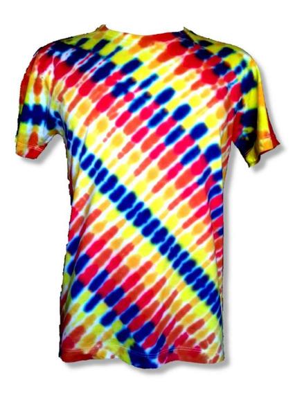 Camiseta Tie-dye Personalizada Psicodélico Camisa + Brinde