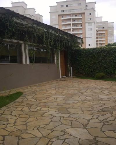 Casa À Venda 3 Dormitórios No Bairro Mansões Santo Antônio Em Campinas - Ca04618 - Ca04618 - 3053144