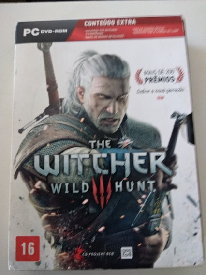 Game The Witcher 3 Pc Completo Mídia Fisica