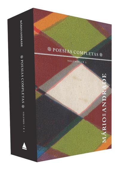 Box Mário De Andrade Poesias Completas Vol 1 E 2