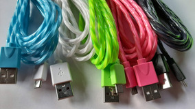 Lote 10 Cables V8 Celulares 3 Mtro Xbox One Android Mayoreo