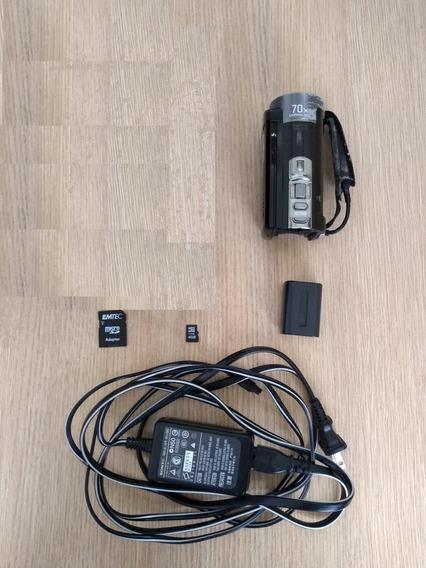 Filmadora Sony Dcr-sx45 Hd Zoom 70x Tela 2,7