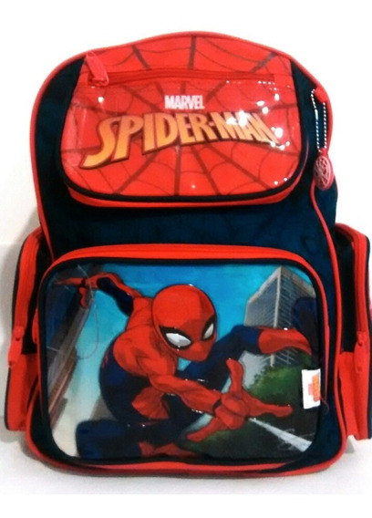 Mochilas Spiderman Original Marvel Con Licencia