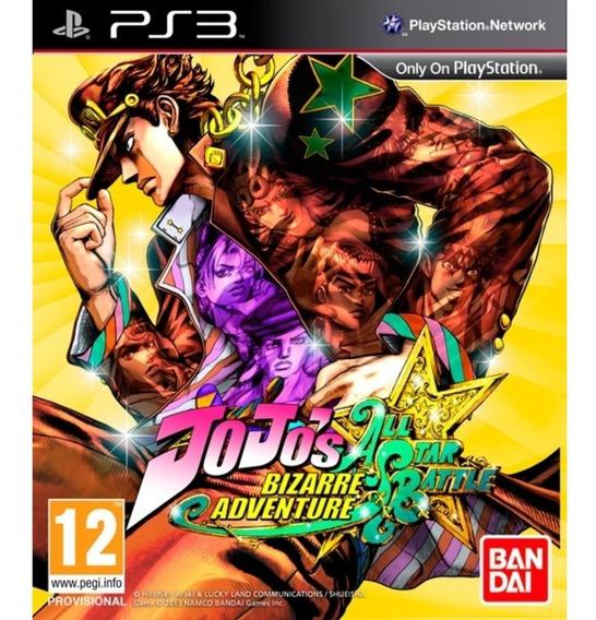 Jojos Bizarre Adventure All-star Battle - Psn Ps3