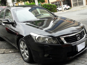 Honda Accord Ex 3.0 V6 Automatico Preto 2009 Blindado