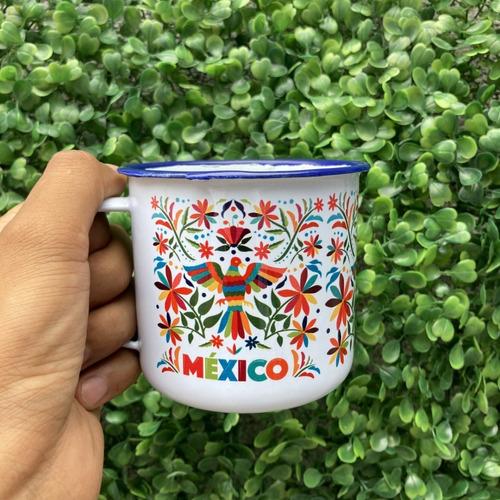 Imagen 1 de 3 de Taza Peltre  Tenango México D8