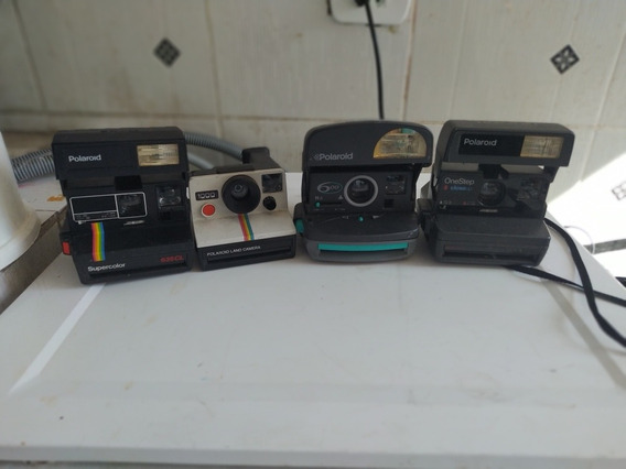 Lote Com 4 Câmeras Polaroid