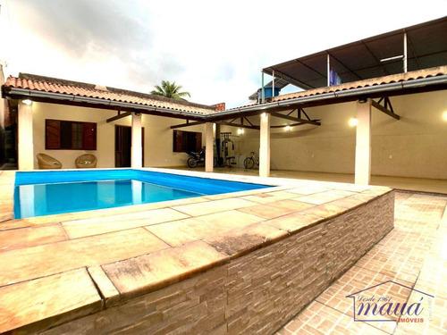 Casa Com 3 Dormitórios À Venda, 92 M² Por R$ 585.000,00 - Jardim Anhangá - Duque De Caxias/rj - Ca0409