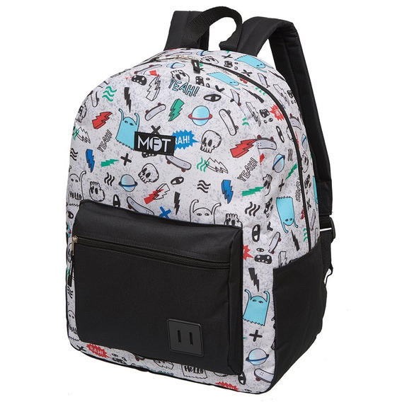 Mochila Escolar Costa Original Estampa Infantil Pacific