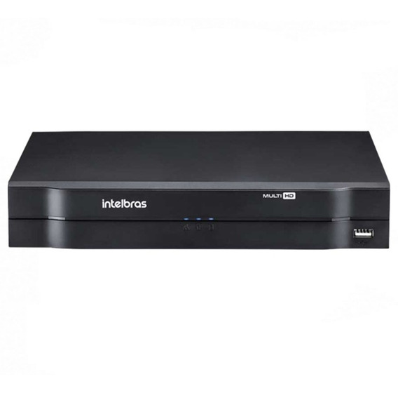 Dvr Intelbras 8ch Mhdx 1008 G3 Multi Hd Cloud P2p Nvr Hdcvi