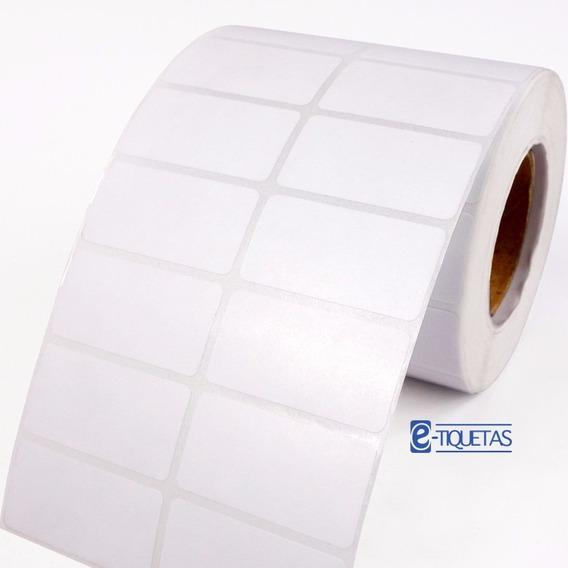 1 Rollo Etiqueta Autoadhesiva Ilustración 40x30 Mm 3000 U