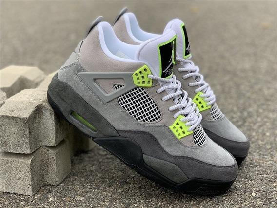 Air Jordan Retro 4 Neon